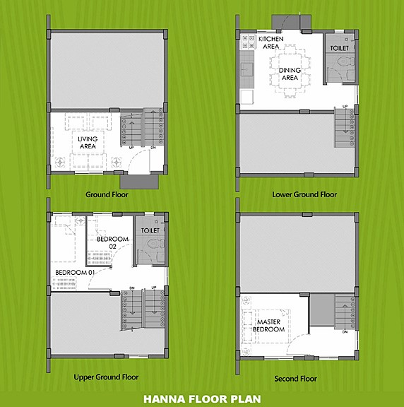 Hanna Floor Plan House and Lot in Dumaguete