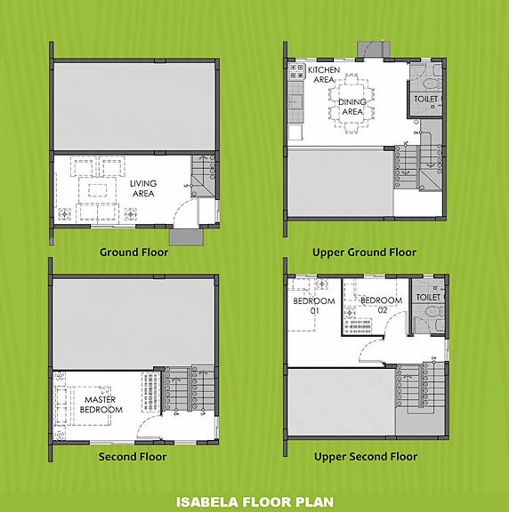 Isabela Floor Plan House and Lot in Dumaguete