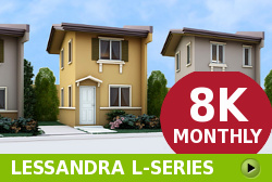 Lessandra Affordable Houses in  Camella Dumaguete