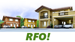 RFO Units for Sale in Camella Dumaguete.